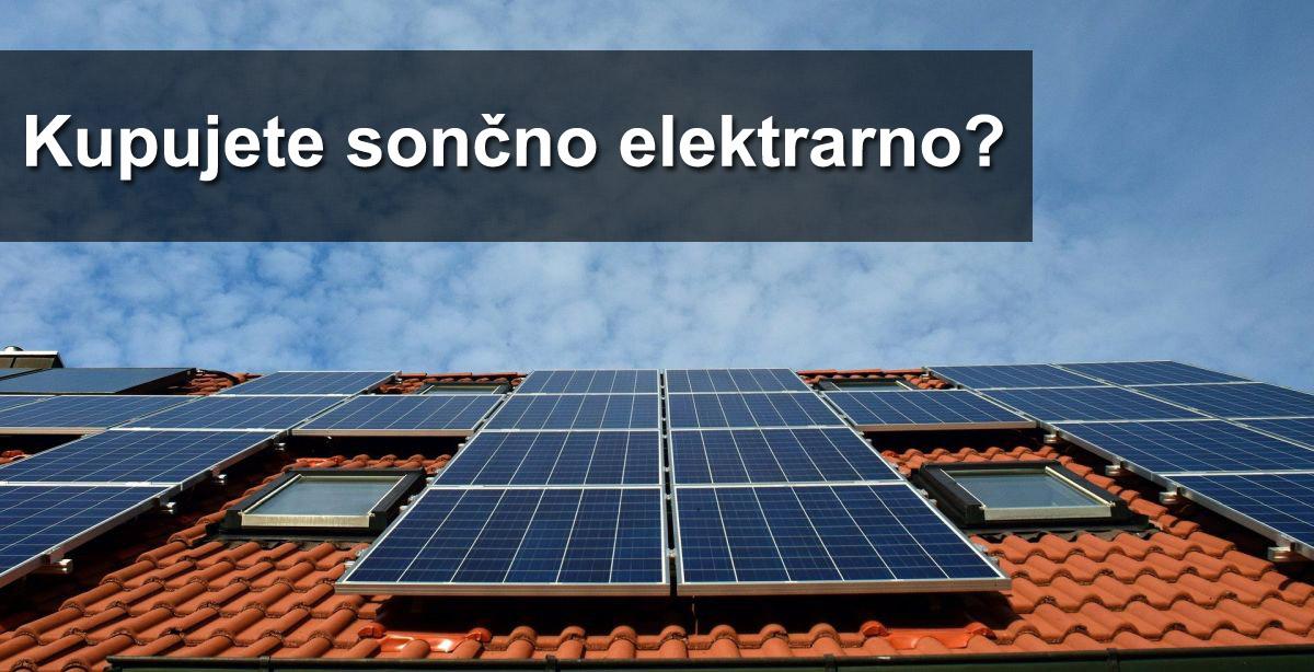 sončne elektrarne - povpraševanje